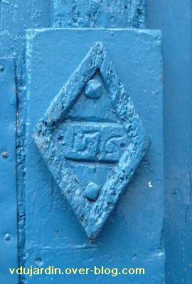 Poitiers, date de 1516 sur une porte