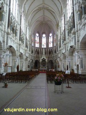 Niort, église Saint-Etienne-du-Port, 3, la nef vue vers le choeur