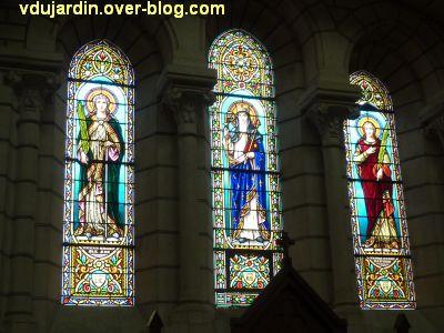 Niort, église Saint-Etienne-du-Port, 6, un exemple de vitraux
