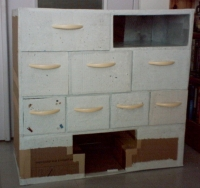 Mon meuble à loisirs créatifs, état au 20 mars 2008