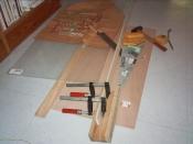 Le matériel pour la fabrication du plateau