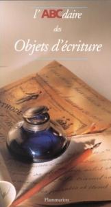 Couverture de l'abacédaire des objets d'écriture