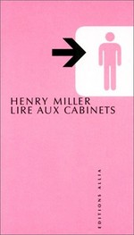 Couverture de Lire aux cabinets de Miller