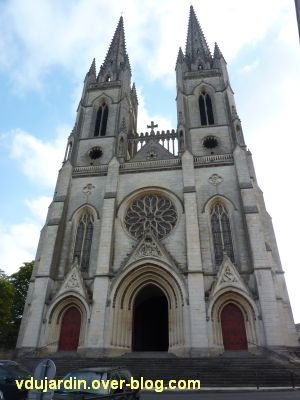 Niort, église Saint-André, 1, la façade occidentale