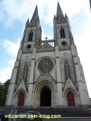 Niort, église Saint-André, 1, la façade occidentale