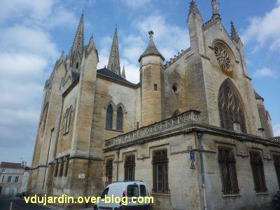 Niort, église Saint-André, 5, le chevet