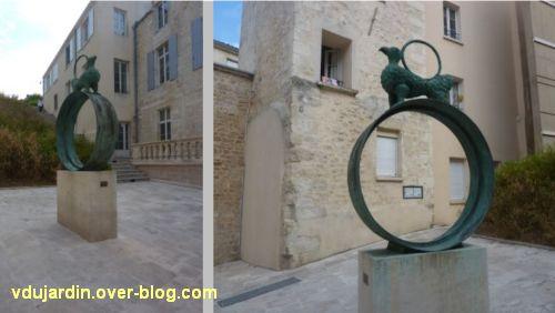 Niort, espace Saint-Vaize rue Saint-André, Cosmos de Richard Texier