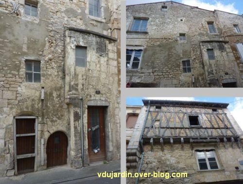 Niort, la maison de la Vierge, 3, des détails d'architecture