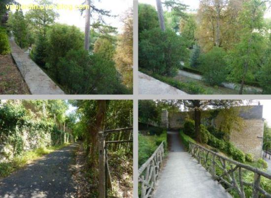 Niort, le jardin des plantes, 3, diverses vues du jardin