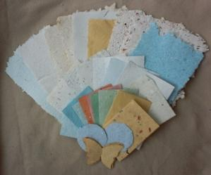 Échantillons de papiers pour Zazimuth