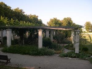 Poitiers, parc de Blossac, le jardin contemporain