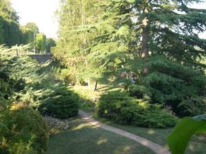 Poitiers, parc de Blossac, le jardin de rocaille