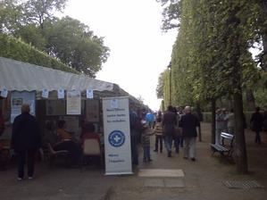 Poitiers, parc de Blossac, la journée des assoications du 14 septembre 2008