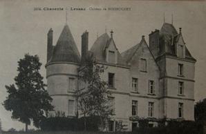 Carte postale ancienne figurant le château de Bois-Buchet