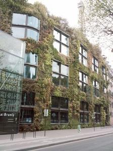 La façade végétale du musée du Quai Branly