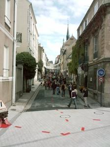 Poitiers, inauguration du TAP, rue Edouard Grimaux, 6 septembre 2008, 16h30