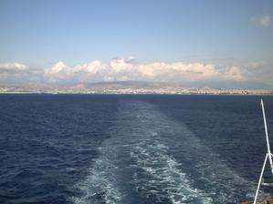 Départ d'Athènes le 29 septembre 2008