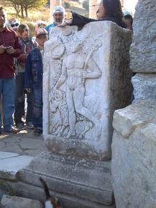 Éphèse, stèle