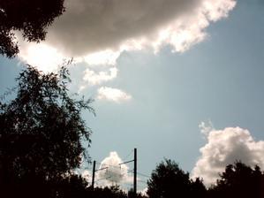 Arrivée des nuages