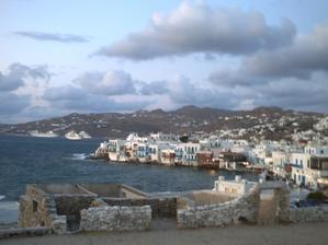 La baie de Mykonos