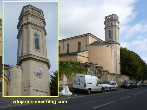 Niort, le collège Fontanes, 4, la chapelle