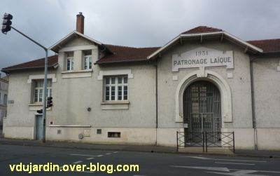 Niort, le collège Fontanes, 5, le cercle laïque situé à proximité, rue du 14 juillet