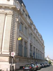 La grande poste de Poitiers, élévation rue Arthur-Ranc