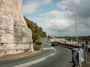 Poitiers, le boulevrd sous Blossac