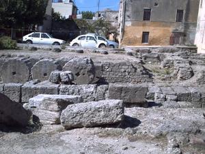 Rhodes, vesige de rempart byzantin