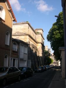 Le château d'eau de Blossac à Poitiers, vue générale