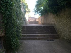 Les escaliers du diable à Poitiers