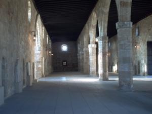 Rhodes, musée archéologique, salle de malades