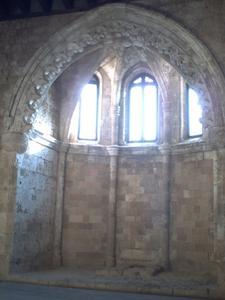 Rhodes, musée archéologique, chapelle de la salle de malades
