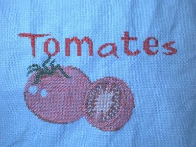 Les trios premières étapes du SAL Confiture de tomates