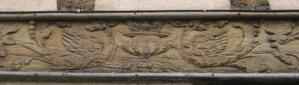 Poitiers, 15 rue Cloche-Perse, animaux de la partie droite de la sablière