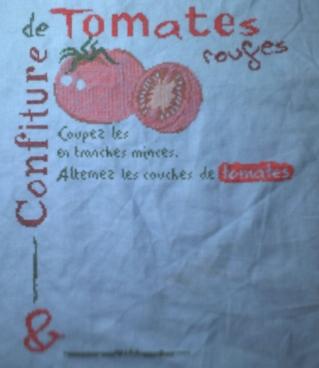 Les sept premières étapes du SAL confiture de tomates