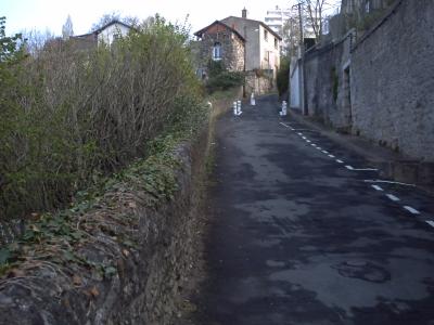 Poitiers, rue de la Cueille aiguë