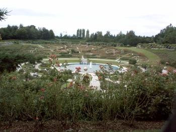 Caen, parc de la colline aux oiseaux, le bassin