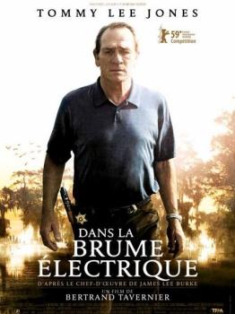 Affiche du film dans les brumes électriques de Tavernier