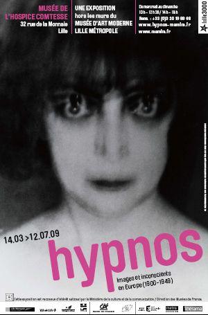 Affiche de l'exposition hypnos à Lille jusqu'au 12 juillet 2009