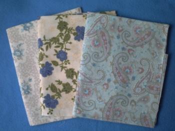 Coupons de tissus envoyés par Muriel
