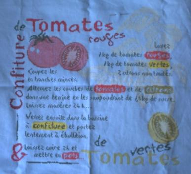 Les quatorze premières étapes du SAL confiture de tomates