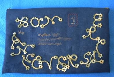 Le recto de l'enveloppe pour la Marquise des anges