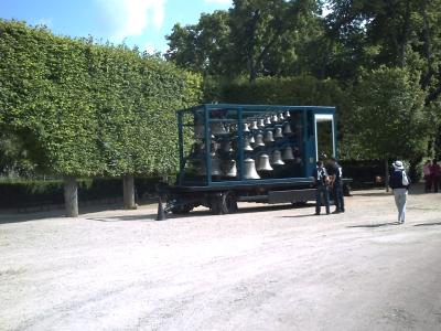 Le carillon ambulant de Douai au parc de Blossac à Poitiers, 21 juin 2009