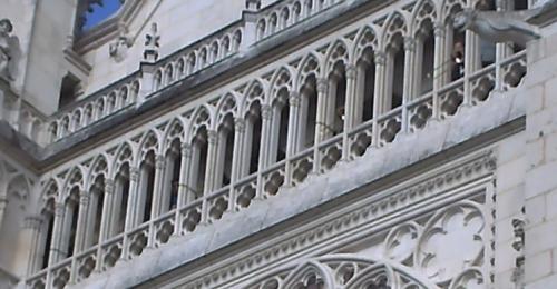 Le final de Kloch, cathédrale de Poitiers, les trombones dans la galerie, 21 juin 2009