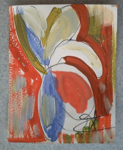 Petite peinture de Florence Pacud