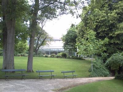 Poitiers, le jardin des plantesl le bassin