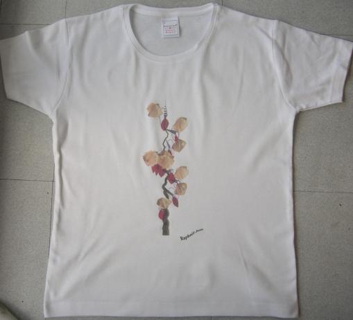 T-shirt avec un motif créé par Raphaël Jean