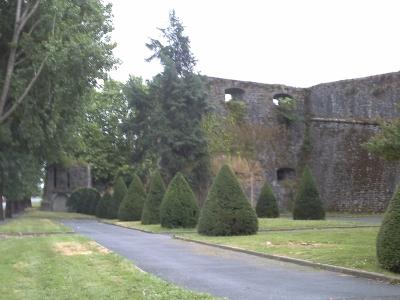 Bayonne, remparts