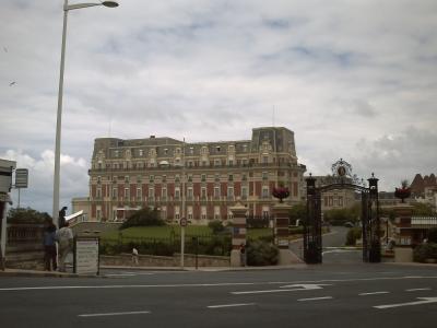 Biarritz, l'hôtel du palais